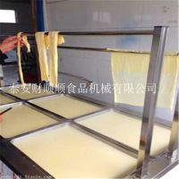 腐竹油皮机 北京酒店特色油皮机厂 财顺顺牌质量好