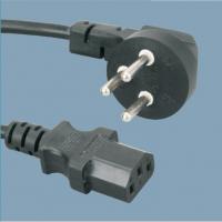 惠信通供应现货 90度弯头品字尾插头线 电动车充电器插头线