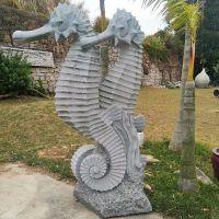 厂家直销石雕动物海龟河马螃蟹章鱼石雕假山等工艺品