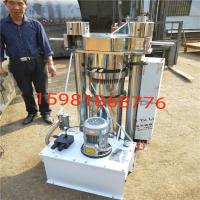 电动液压芝麻榨油机 新型油坊全自动香油机 流动小型芝麻花生香油机