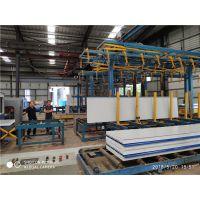 自动码垛设备是彩钢复合板智能生产必不可少的环节