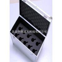 食品检测采样箱箱体/多功能铝合金吸收瓶采样箱箱体 中西器材 型号:M371193库号:M371193