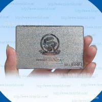 金属蚀刻名片,拉丝不锈钢卡片,精致不锈钢会员卡