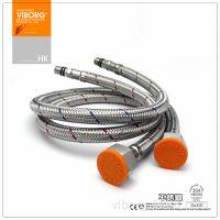 香港域堡 全304不锈钢丝编织进水软管龙头专用4分进水管冷热A611S