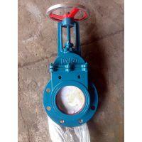 绵阳浆料闸阀市场价 ZT9928-10 DN450 圆形浆阀刀闸阀价格优惠GRD
