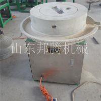 邦腾磨坊专用石磨机 原汁原味小型全自动豆腐石磨机