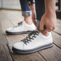 休闲鞋男夏季新款2018韩版英伦小白鞋百搭板鞋男士透气男鞋潮鞋子
