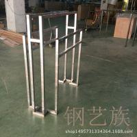 不锈钢展示架服装道具架佛山钢艺族订做批发专卖店外贸出口层板架