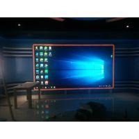 榆林清涧县电视台led显示屏 演播室全彩 广播电视台p2.5 小间距背景电子屏