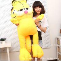 厂家直销毛绒玩具正版大号加菲猫创意抱枕玩偶布娃娃情人节礼物