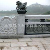 山东大理石石雕栏杆 寺庙石栏杆楼梯扶手 来图定做