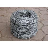 西安刺铁丝护栏网 带刺防护网 不锈钢刀片刺绳隔离网