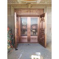 西安家装院子铜门加工 西安铜大门价格 安康铜门批发