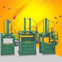 立式大油桶挤块机 易拉罐减容压块机 编织袋废纸箱打包机哪里有卖