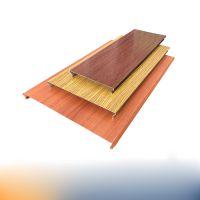立广建材铝天花室外防风S型条形铝扣板厂家定制