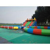 广西藏龙游乐游乐场充气水滑梯厂家报价