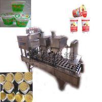 现做现卖的豆浆灌装封口机 杯装八宝粥封碗机 来样定制