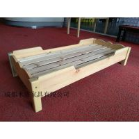 自贡/乐山幼儿园实木单人床定做 成都木洛优势明显