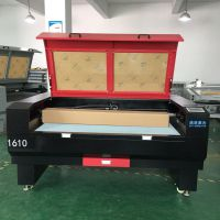 浙江服装激光裁布机1390激光100瓦皮革布料地毯地垫切割机