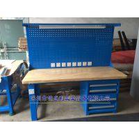 锦盛利GZG-1041榉木钳工桌 配落地柜榉木操作台 重型榉木模具桌