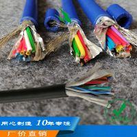 2芯1.9毫米厚外皮YSPT0.5平方镀锡铜线水工检测屏蔽电缆