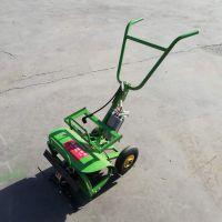 现货直销手推式电动除草机/直流电动松土机/家用电动割草机