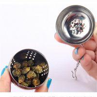不锈钢调味球煲汤球泡茶球调料球 火锅香料漏 现货批发