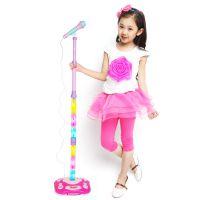 儿童玩具麦克风唱歌机 ktv卡拉ok女孩麦克风 充电扩音宝宝音乐玩