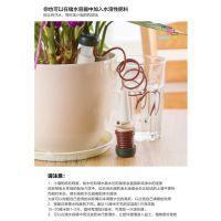 花卉盆栽自动浇花器 浇水器 滴灌器园艺工具  单个OPP袋装
