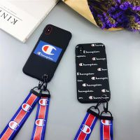 韩国潮牌 苹果6手机壳iPhone7plus/6s/8/x创意个性冠军保护套带挂