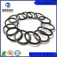 定制90度氟胶O型圈黑色咖啡色耐高压耐磨损高硬度氟橡胶O型密封圈