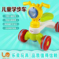 乐泉小摩托宝宝学步车 婴儿手推滑行助步车玩具 儿童踏行车