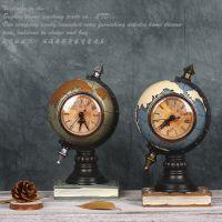 欧式复古树脂地球仪模型创意家居咖啡厅房间装饰品摆件摄影道具