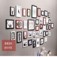 玻璃板艺术简约壁挂风景床头套装5寸墙上相片个性相框挂墙装饰画