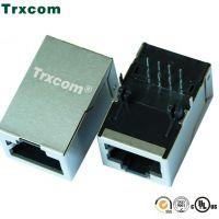 泰瑞康/Trxcom10M/100M/1000M 多口RJ45插座集成网络隔离变压器