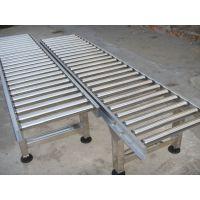 中国伸缩辊筒输送机 不锈钢水平输送滚筒线