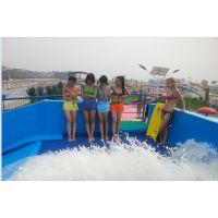 供应山东青岛移动单人 双人滑板冲浪模拟器 水上乐园设备