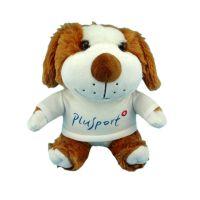 25CM生肖动物狗坐资穿衣毛绒玩具企业吉祥物厂家直销 可来图打样定制