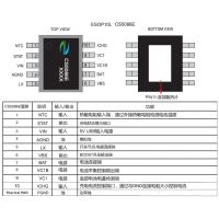 CS5086带平衡功能、5V USB输入、两节锂电池8.4V、1.5A升压充电管理IC