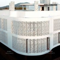 丽江外墙造型铝单板 铝合金镂空装饰板定制价格
