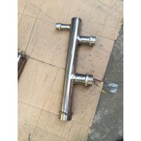 304不锈钢分水器集水器稳流器地暖集分水器水表立柱厂家直销