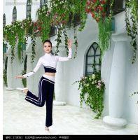 新款啦啦操高领性感成人演出服爵士舞时尚现代舞蹈服装舞台批发女