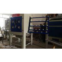 广西喷砂机 手动玻璃喷砂机免费打样测试效果