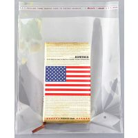 深圳透明opp自粘袋子彩印刷服装塑料胶袋自封口包装袋定做