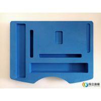 专业生产彩色EVA泡棉 雕刻一体成型内衬 包装海绵内托