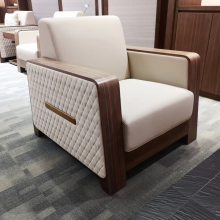 供应深圳众晟家具ZS-VS001现代奢华皮制VIP贵宾接待沙发
