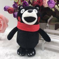 创意香味黑熊毛绒公仔娃娃机儿童毛绒公仔大黑熊包包钥匙扣挂件
