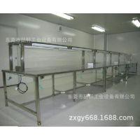 供应东莞不锈钢工作台 不锈钢工具柜不锈钢流水线操作台厂家定制