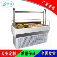 卧式三明治柜1米开放式蛋糕冷藏展示柜保鲜柜西点寿司蛋糕柜