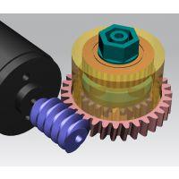 载重机器人齿轮箱设计_体积小扭力大载物多传动平稳静音
